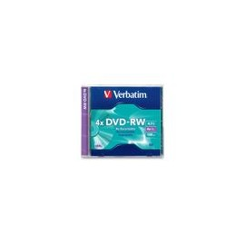 DVD-RW Verbatim 4.7GB 120Min Individual