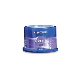 DVD R Verbatim 4 7GB 120MIN 50Pk